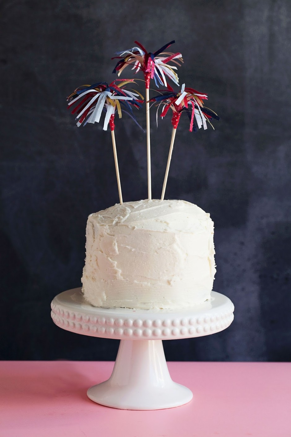4th of july cake topers