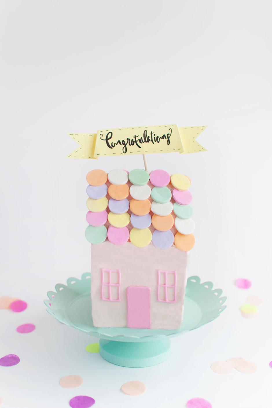 DIY House Cake