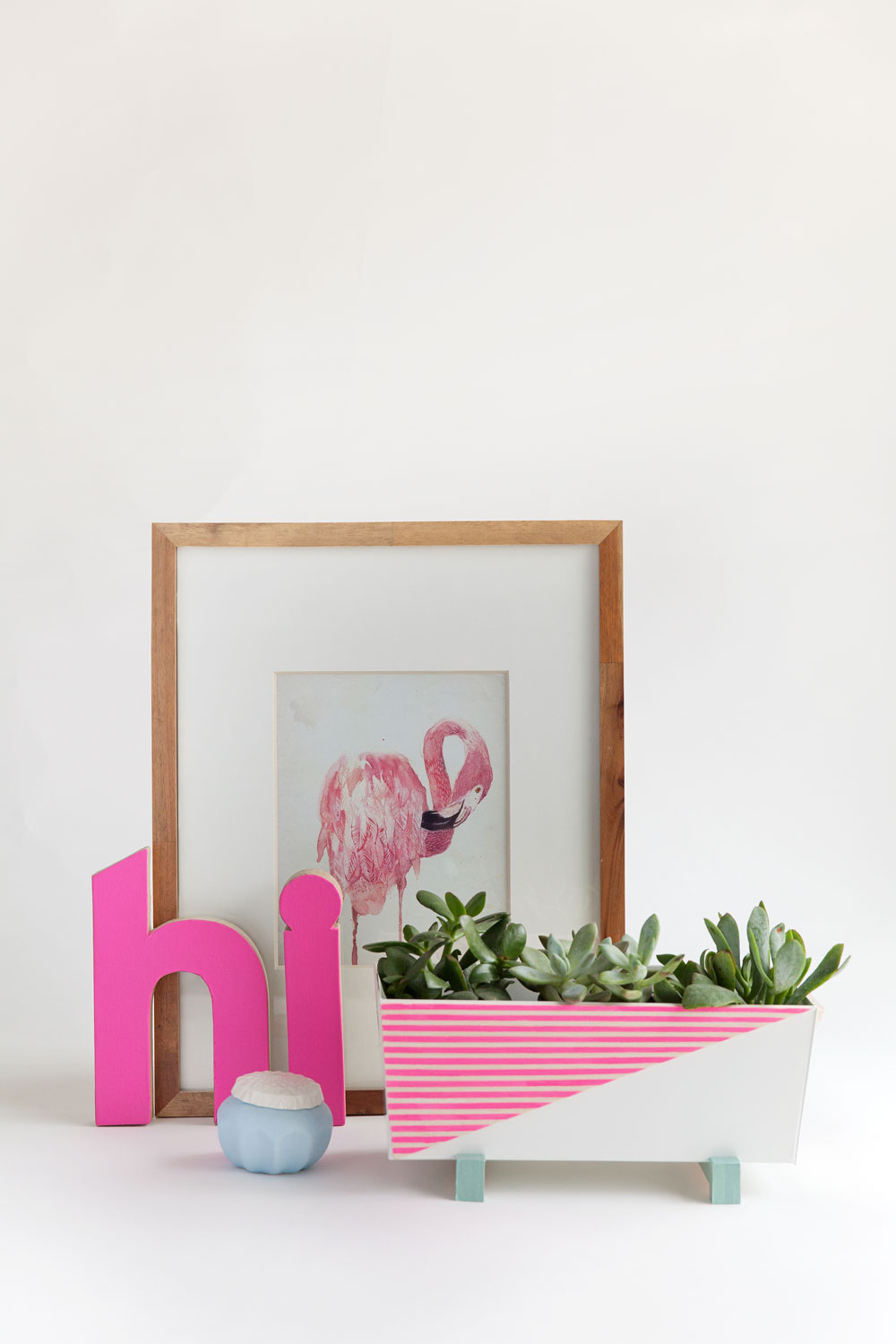 IKEA Hacks für den Sommer: Indoor Blumenkiste mit Muster - Tell Love and Party