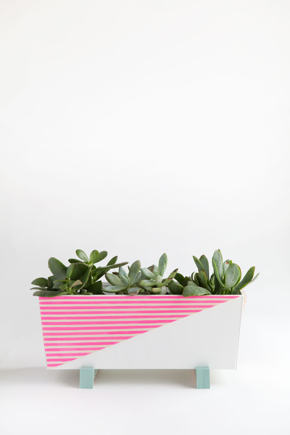 Diy Modern Indoor Planter Tell Love And Party