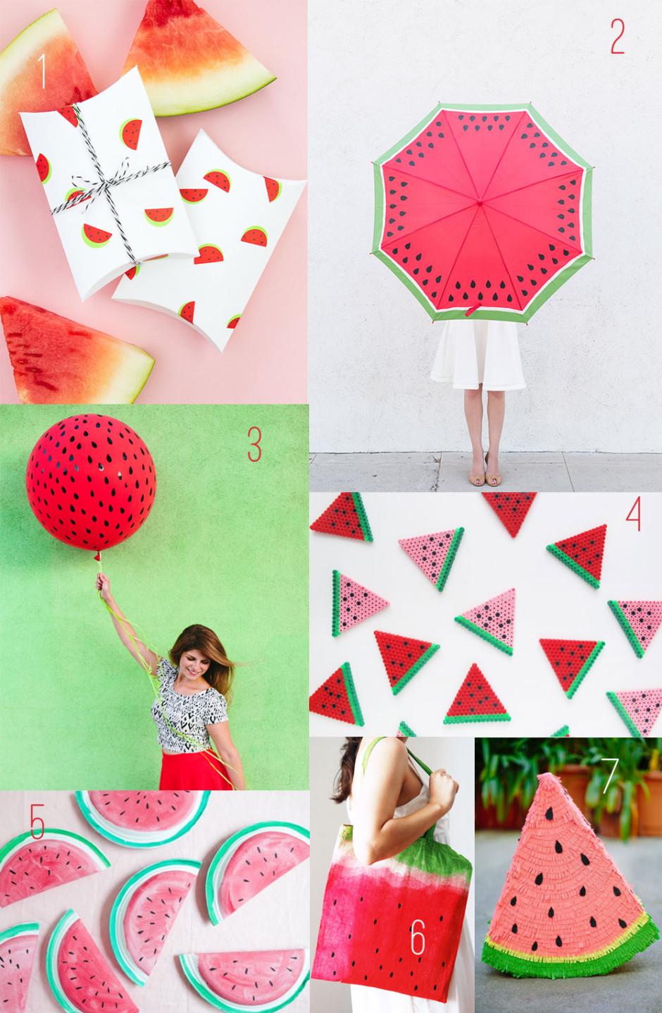20-Watermelon-DIY's