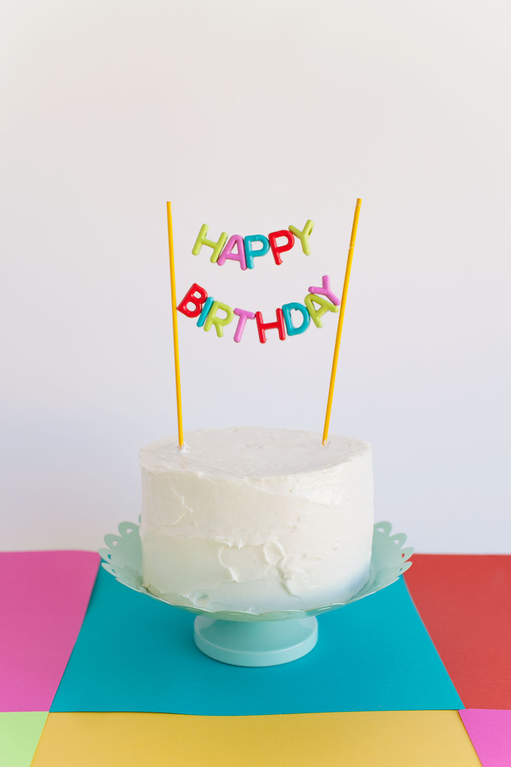 Cake Toppers Birthday Michaels : ALPHABET BEAD CAKE TOPPER DIY - Tell Love and Party