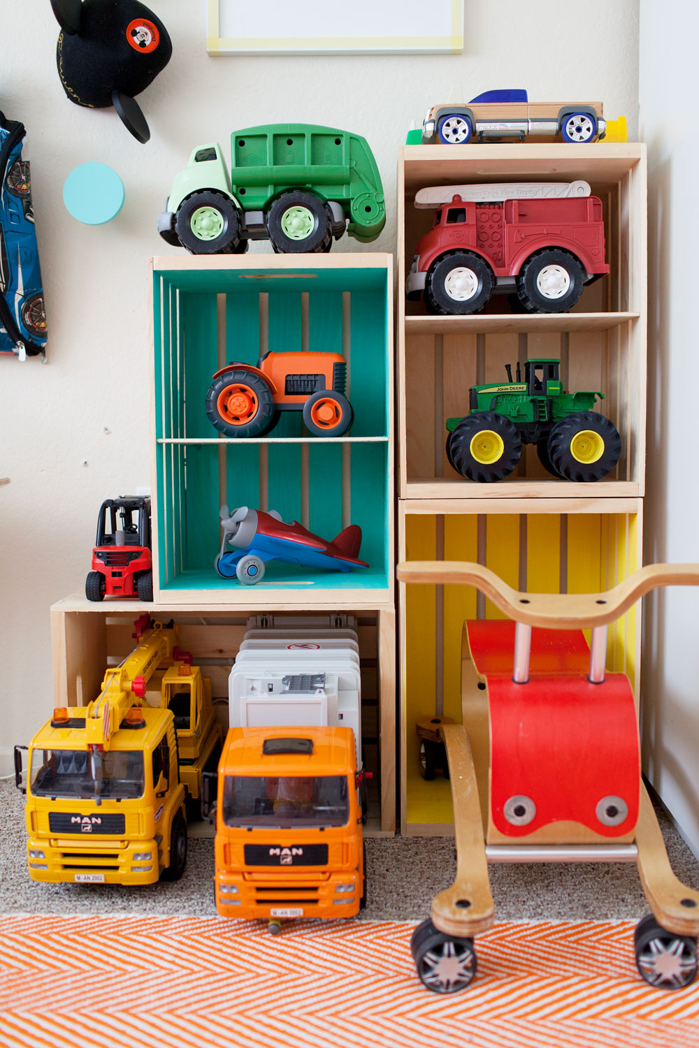 Toy Storage For Boys : Boys room decor