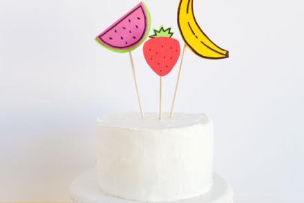Fruit-cake-topper