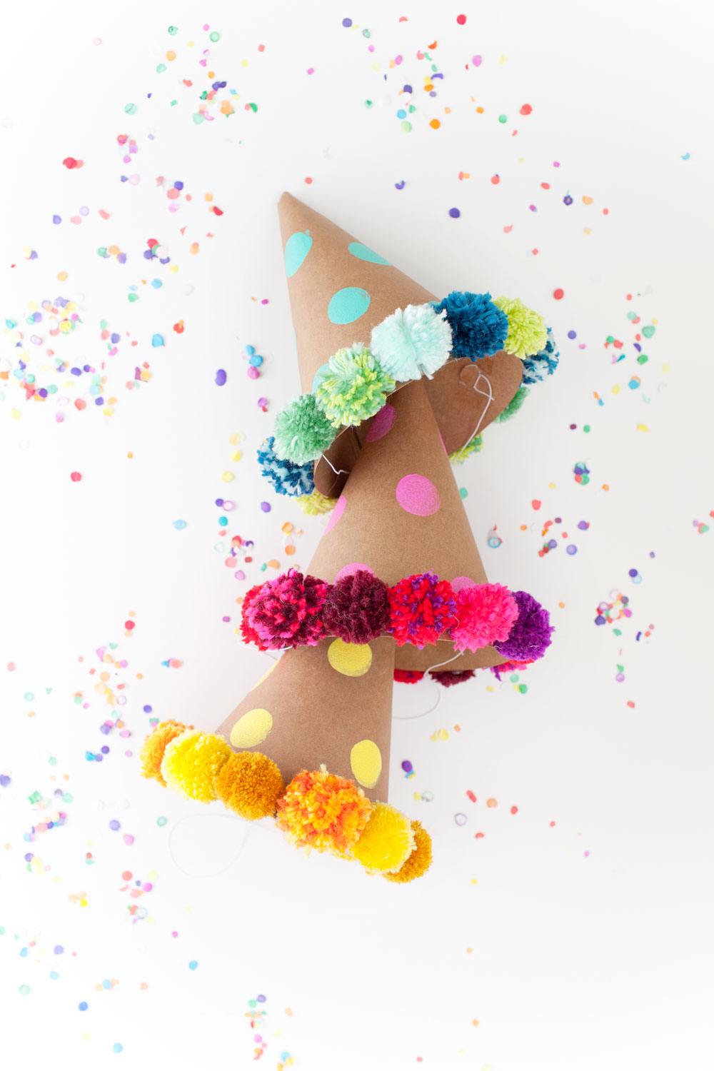 POM POM PARTY HAT DIYTell Love and PartyTell Love and Party