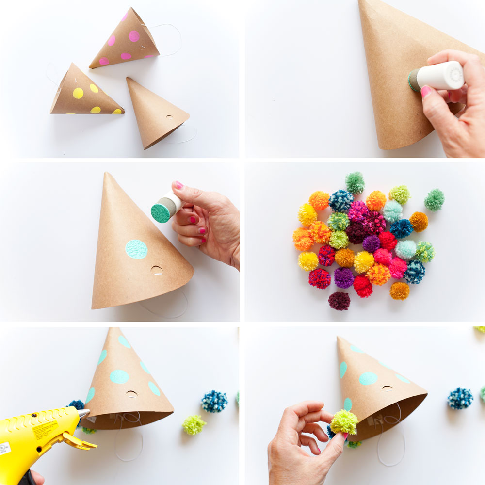 Steps-to-make-a-fun-pom-pom-party-hat