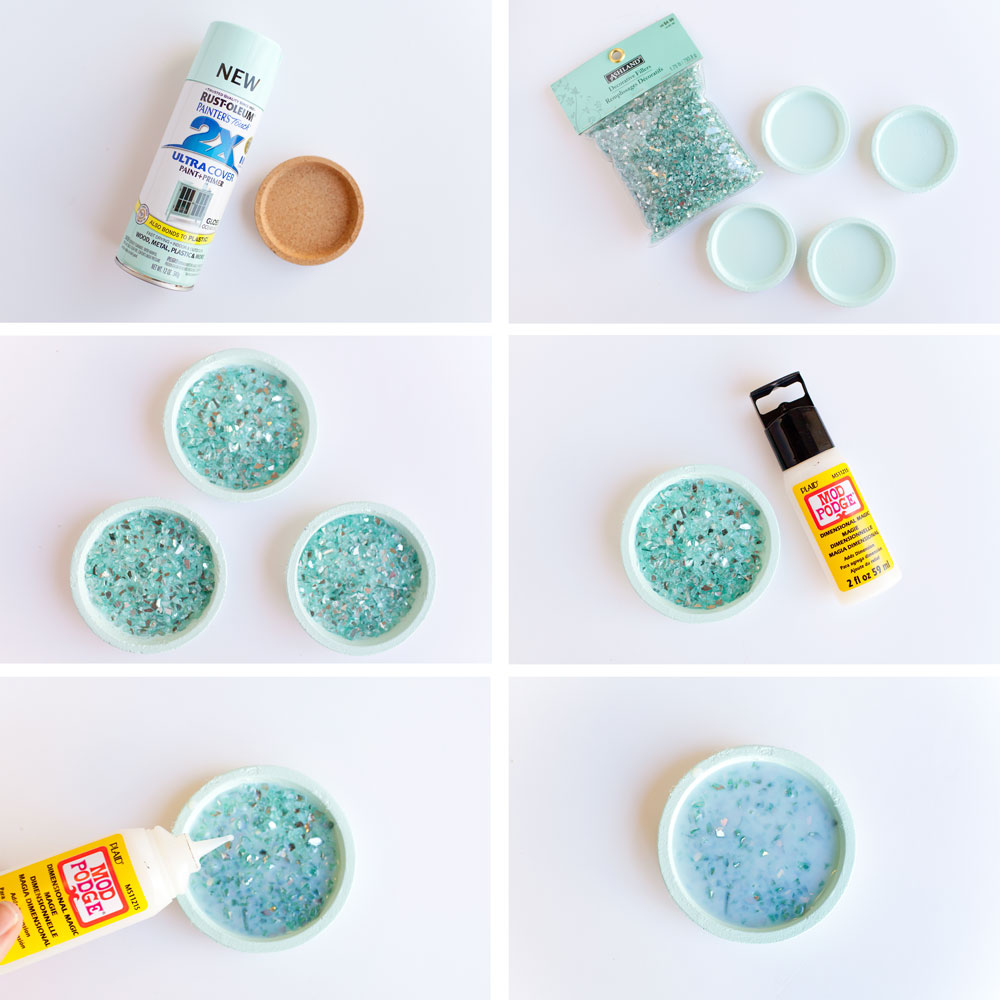 Diy Crushed Glass Coasters Craft Hackers