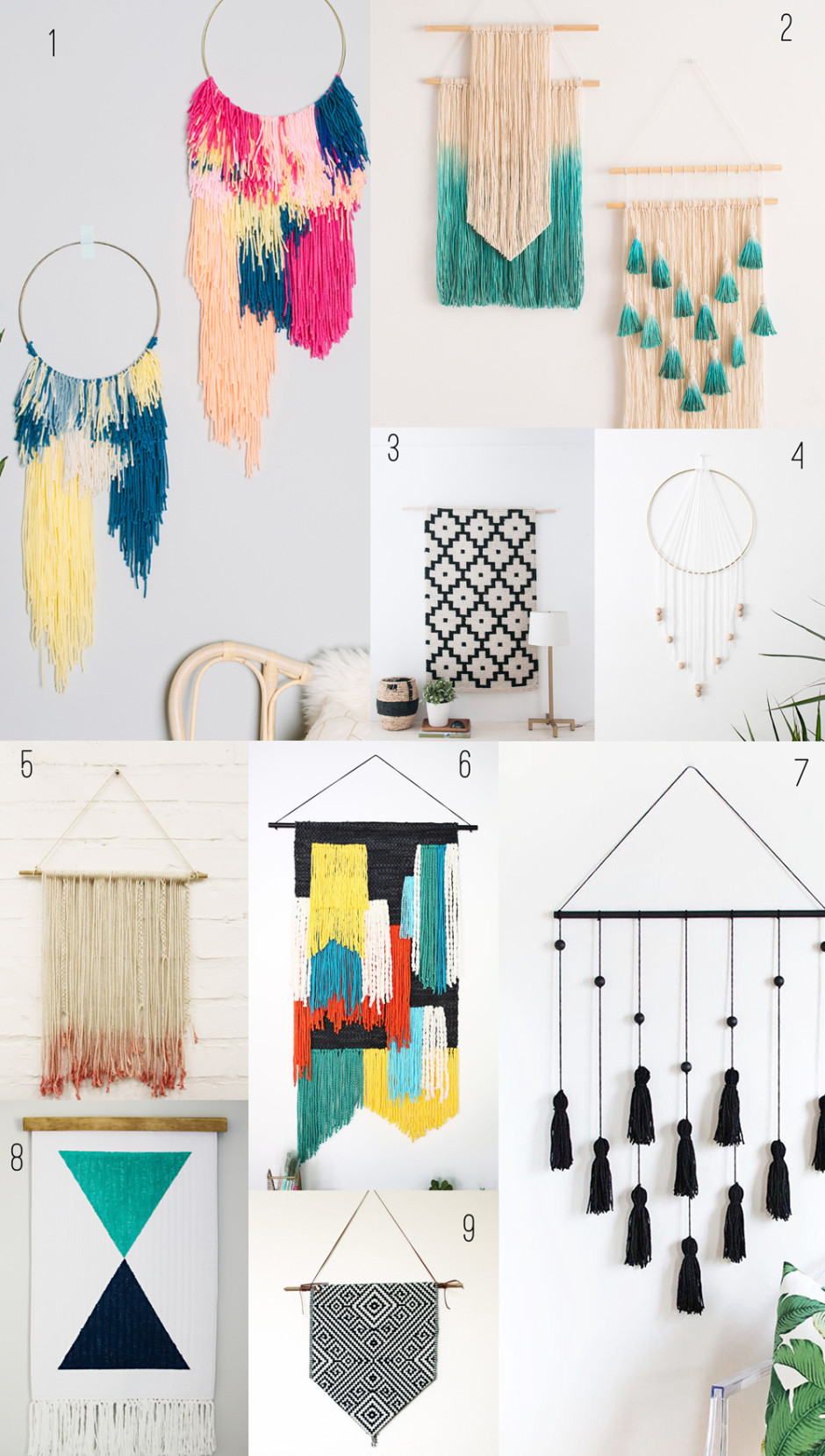 9 Amazing Diy Wall Hangings Tell Love And Partytell Love