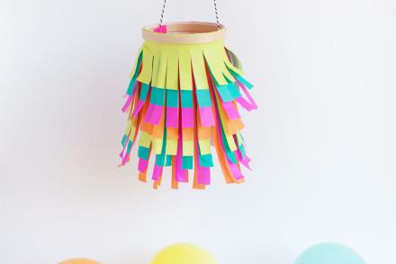 DIY-tissue-paper-lantern