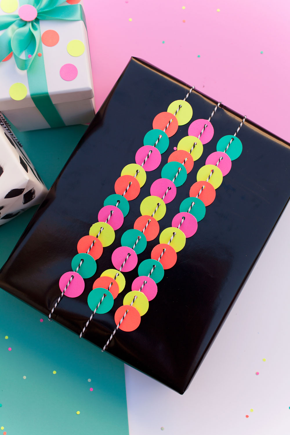 circle-hole-punch-gift-wrapping-ideas