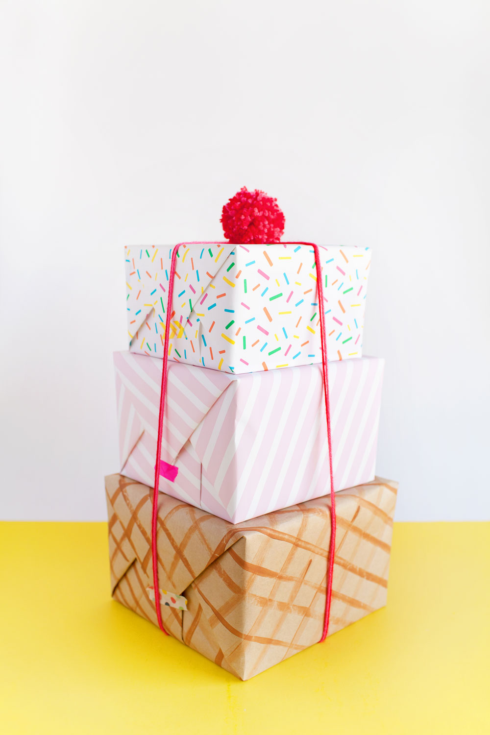 ice-cream-inspired-wrapping-paper