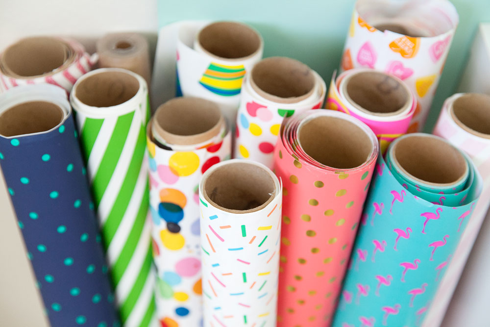 Fun-and-colorful-wrapping-paper,-in-a-bright-and-fresh-office-redo