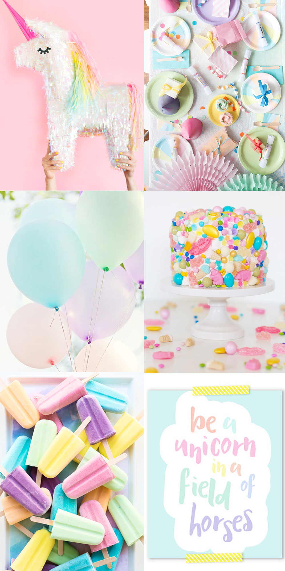 Unicorn Party Inspiration Tell Love And Party Bloglovin