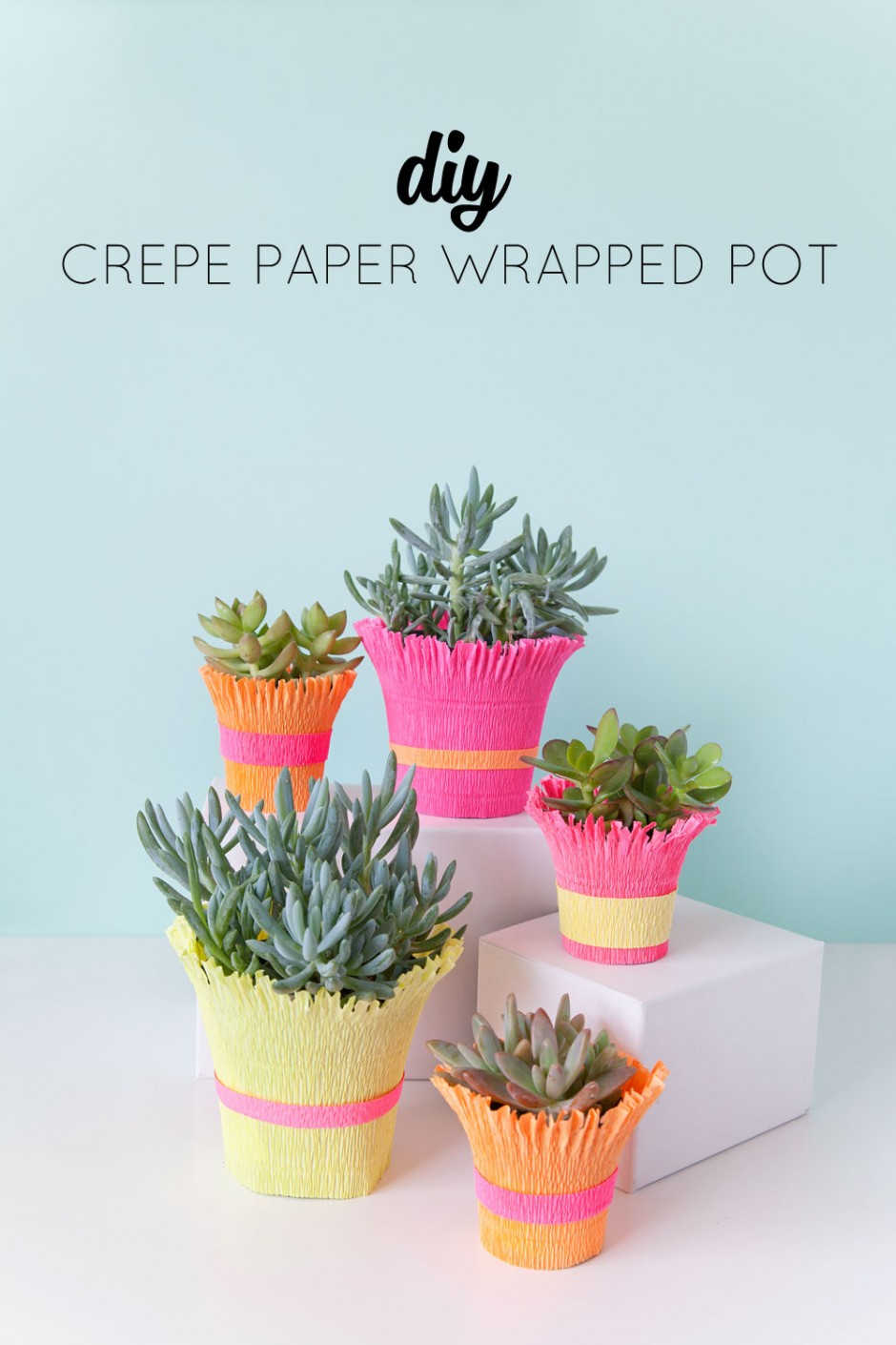 where can i buy crepe paper Easy crepe paper ruffles  want to see what you can do with all this crepe paper check out the inspiration for this tutorial in my spring garland post.