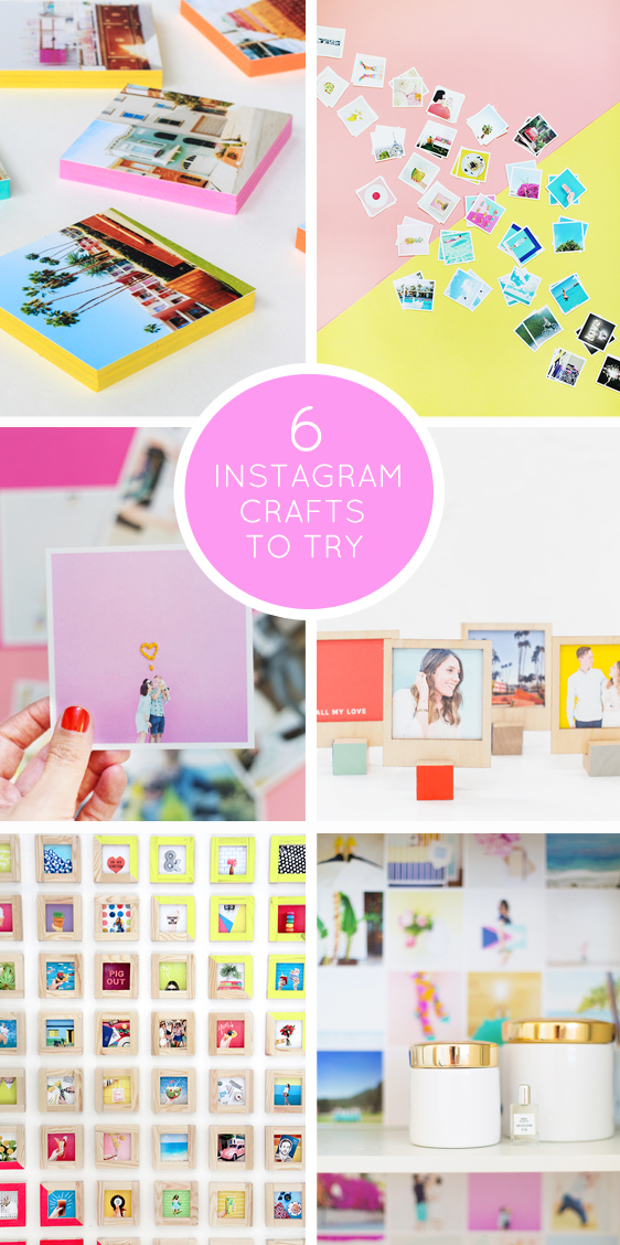 Six fun instagram crafts to try this weekend