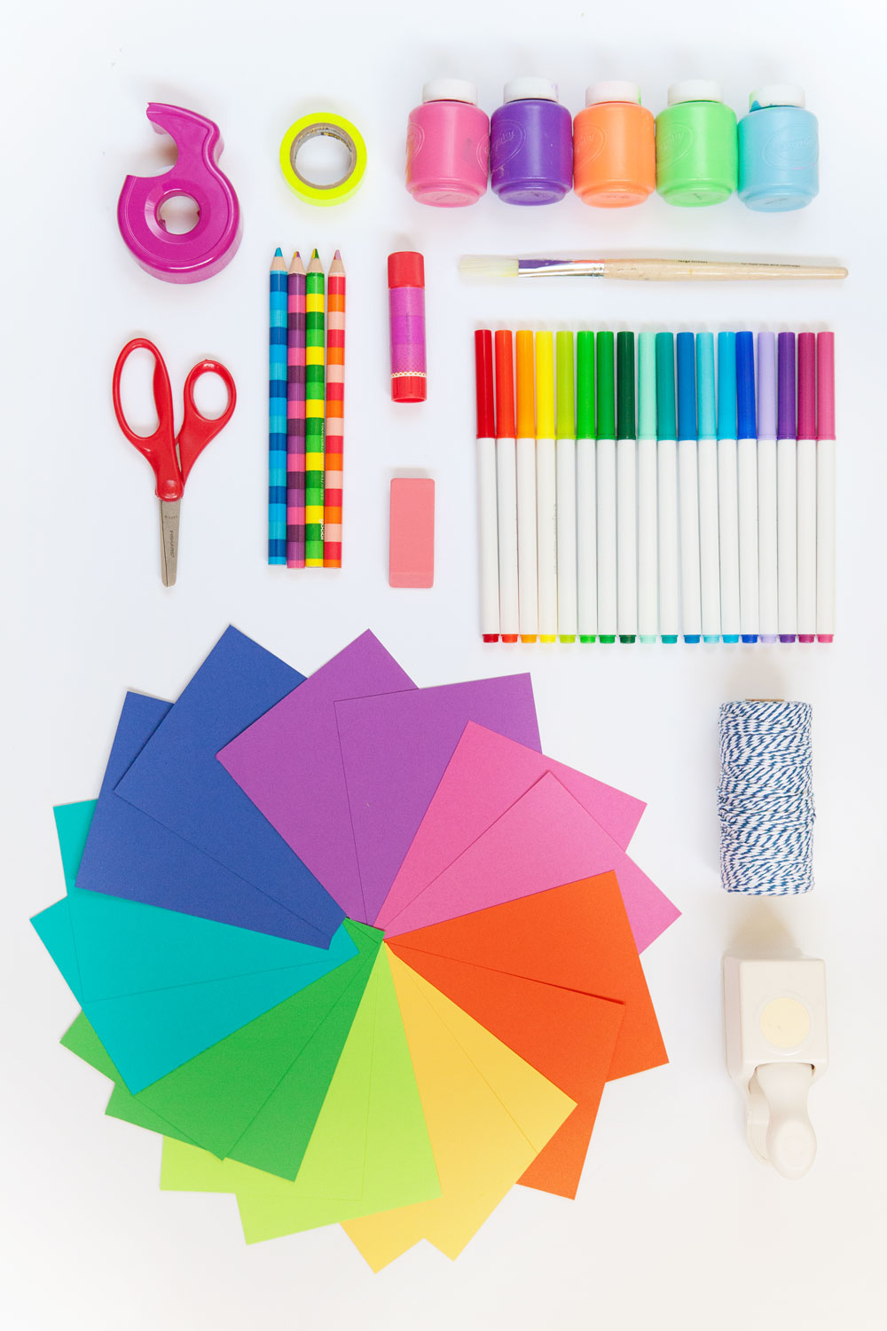 Colorful-craft-supplies