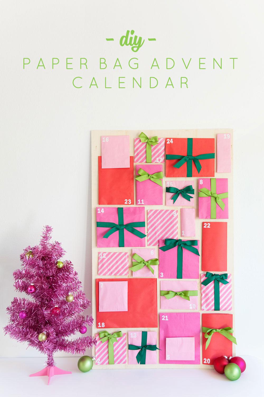 Diy Love Calendar : Diy paper bag advent calendar tell love and party
