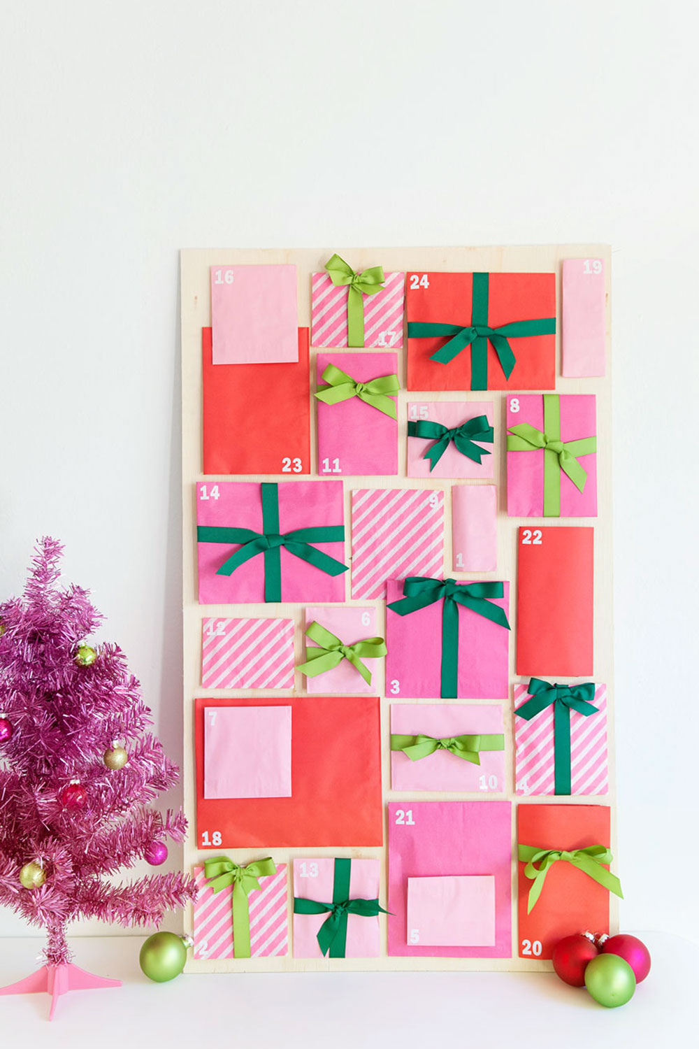 Diy Chocolate Advent Calendar : Diy paper bag advent calendar tell love and party