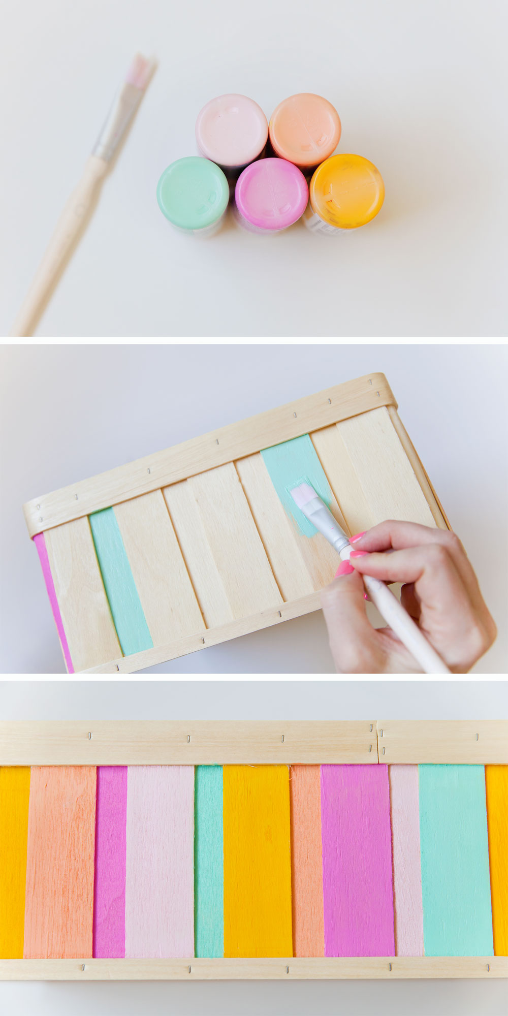 DIY-steps--Painted-Wood-Box