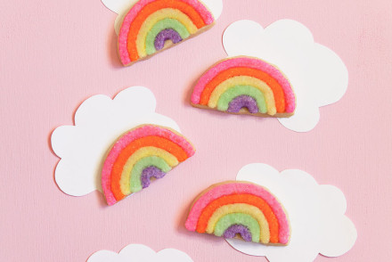 Rainbow-sugar-cookies