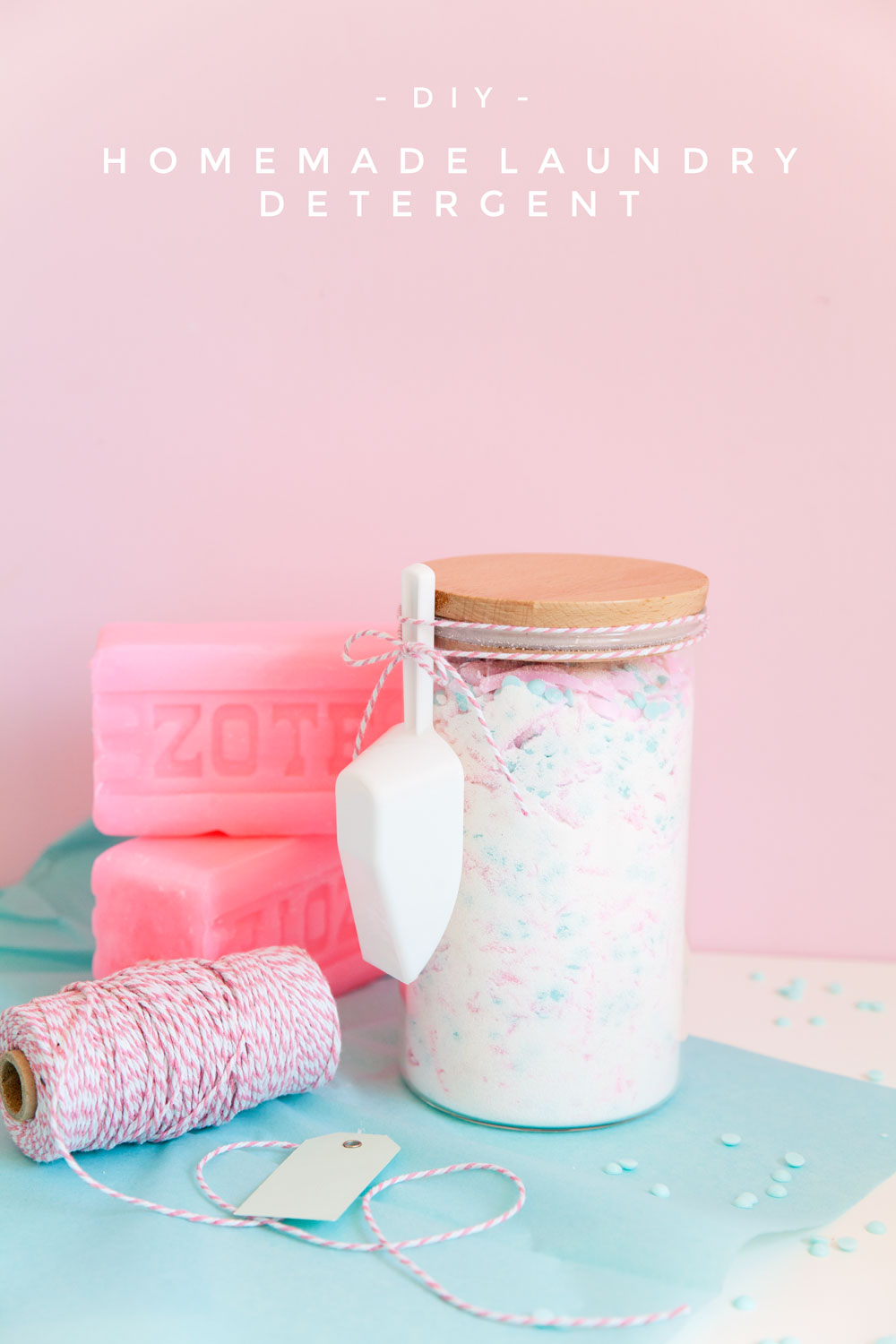 Homemade laundry detergent recipe tell love and party Diy homemade soap recipe