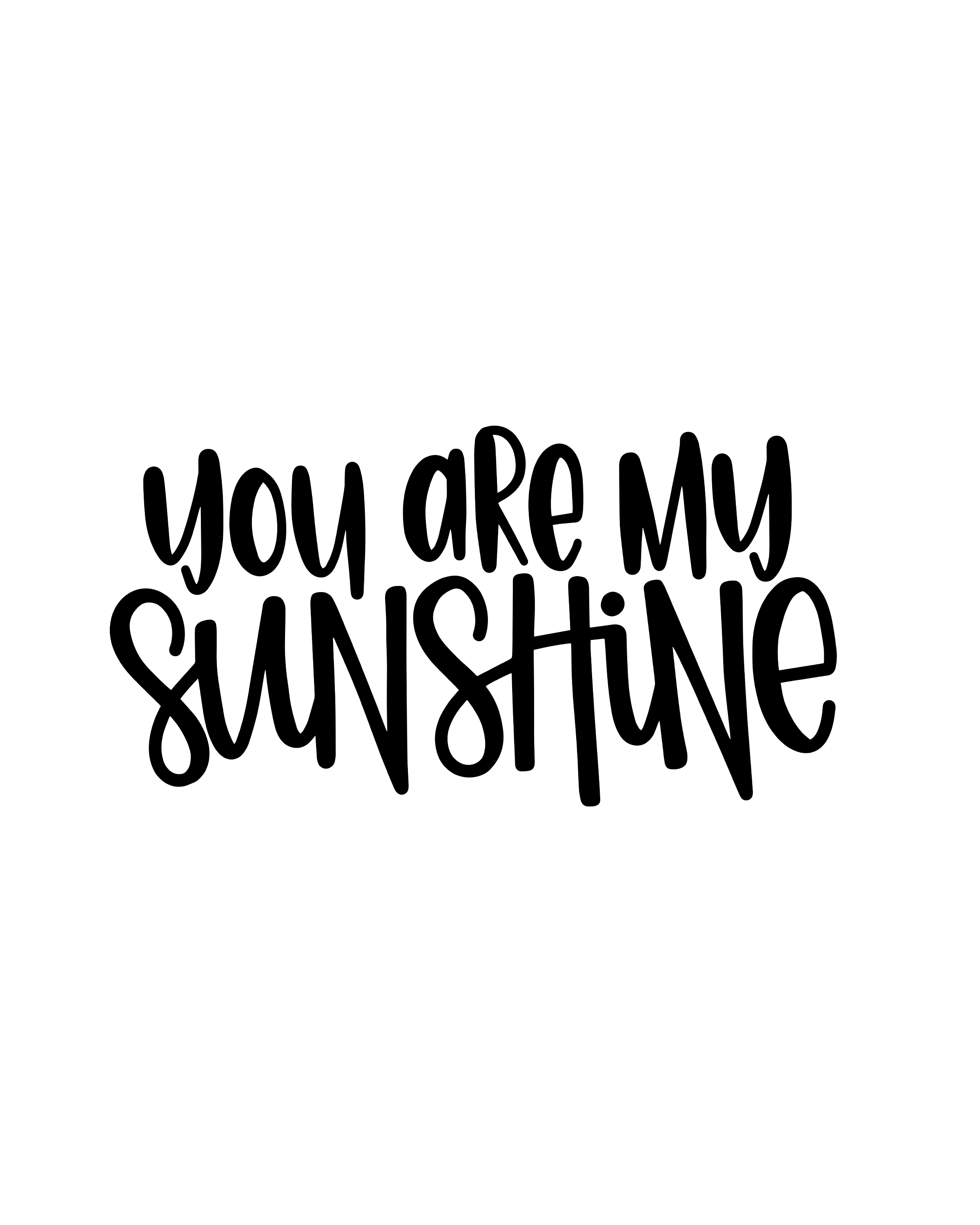 You Are My Sunshine Painting Ideas
