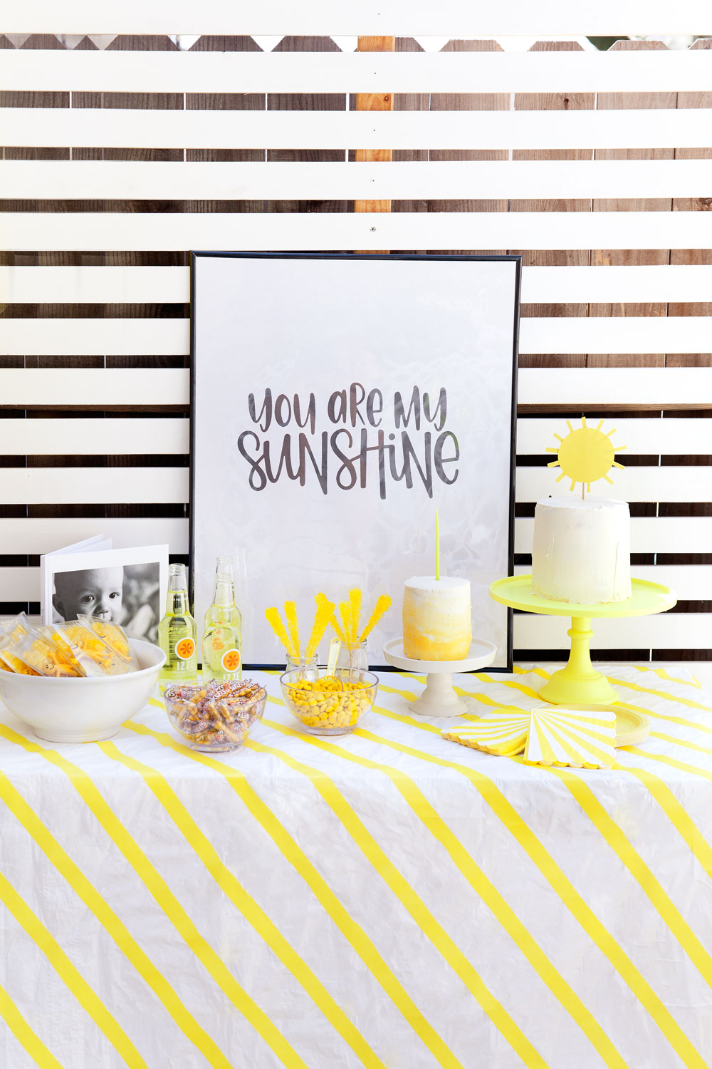 you-are-my-sunshine-themed-kids-party