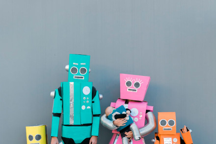 Robot-Family-costume-DIY