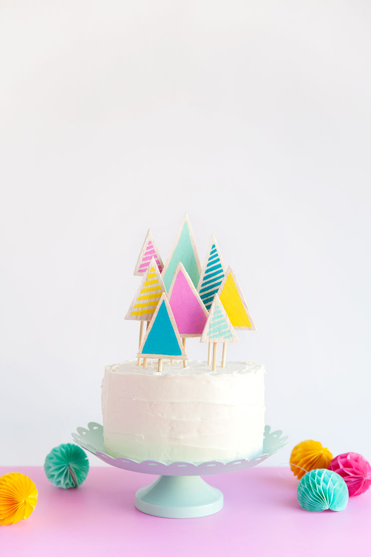 Christmas Tree Cake Topper Tell Love And Party