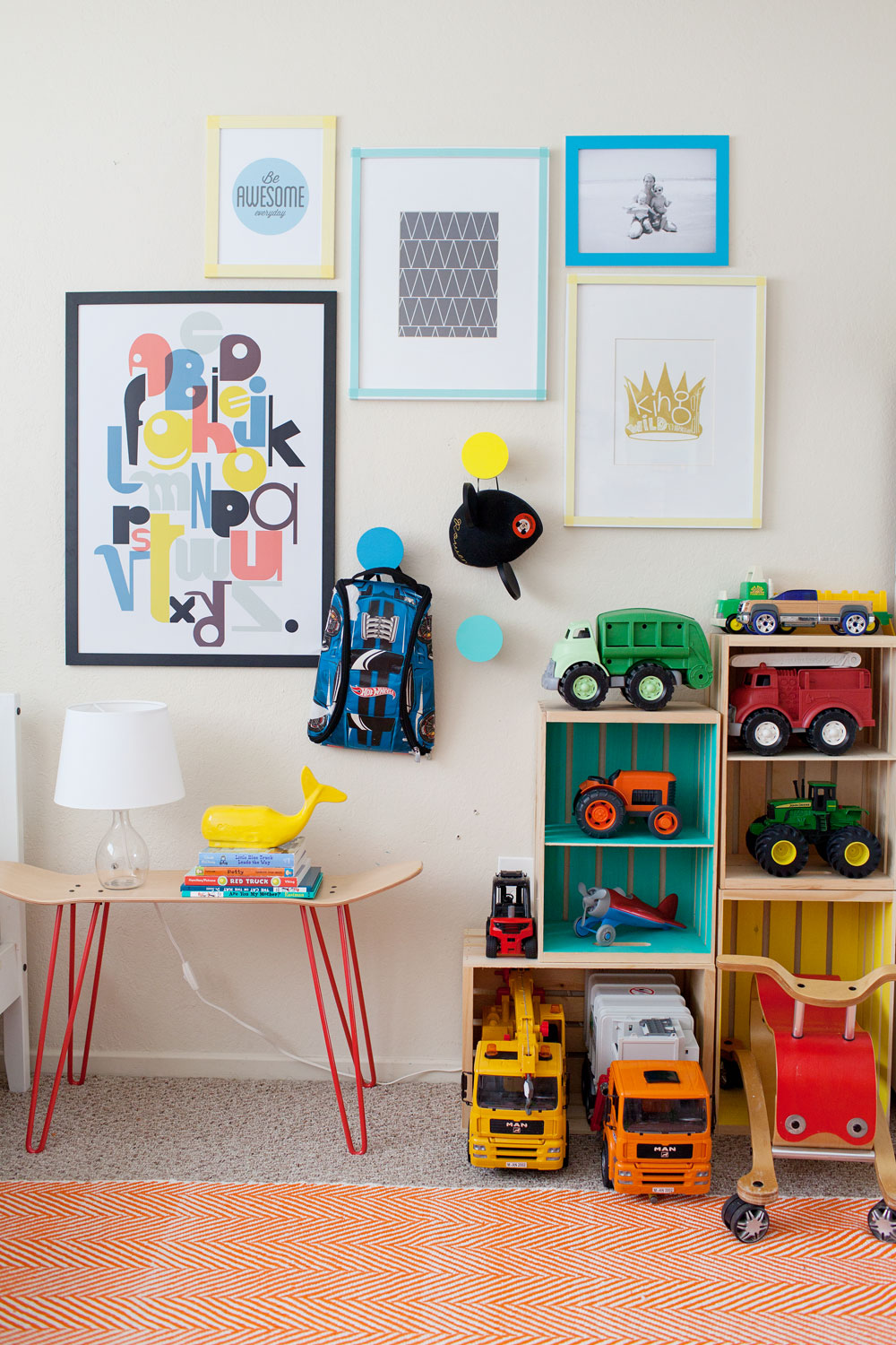 Tell-Love-and-Chocolate--Kids-Gallery-Wall