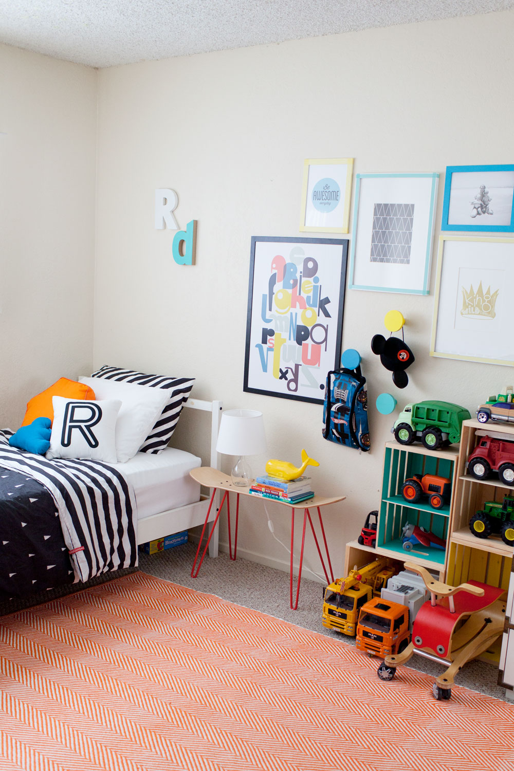 Tell Love and Chocolate- Kids room redo