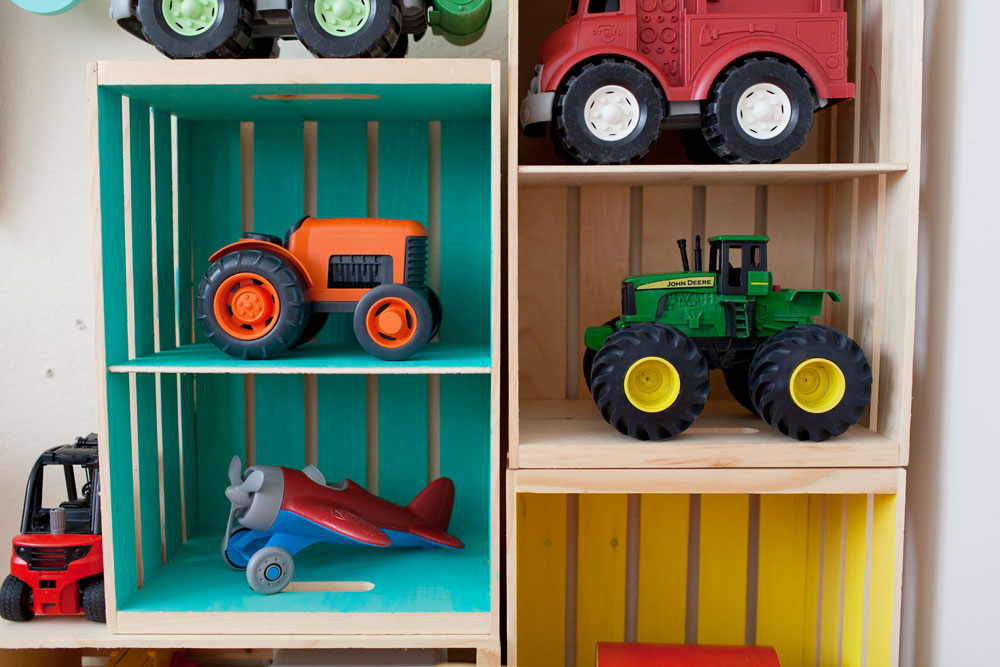 Tell Love and Chocolate- toy storage ideas