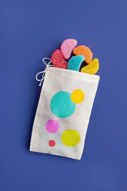 painted-polka-dot-treat-bags