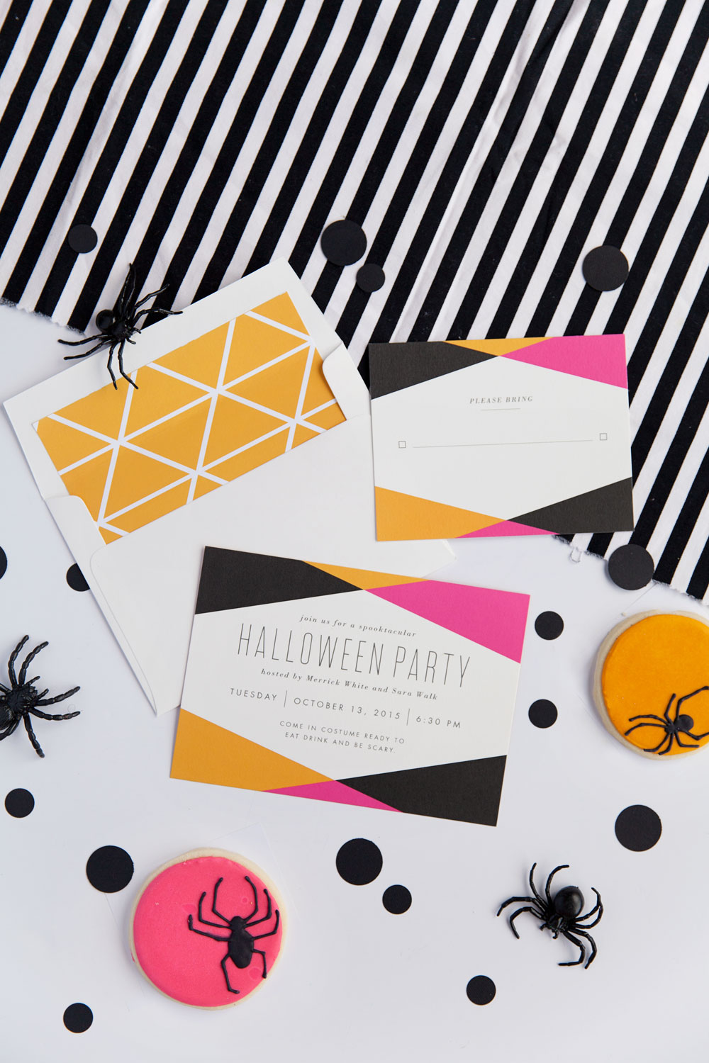 Halloween-invitations