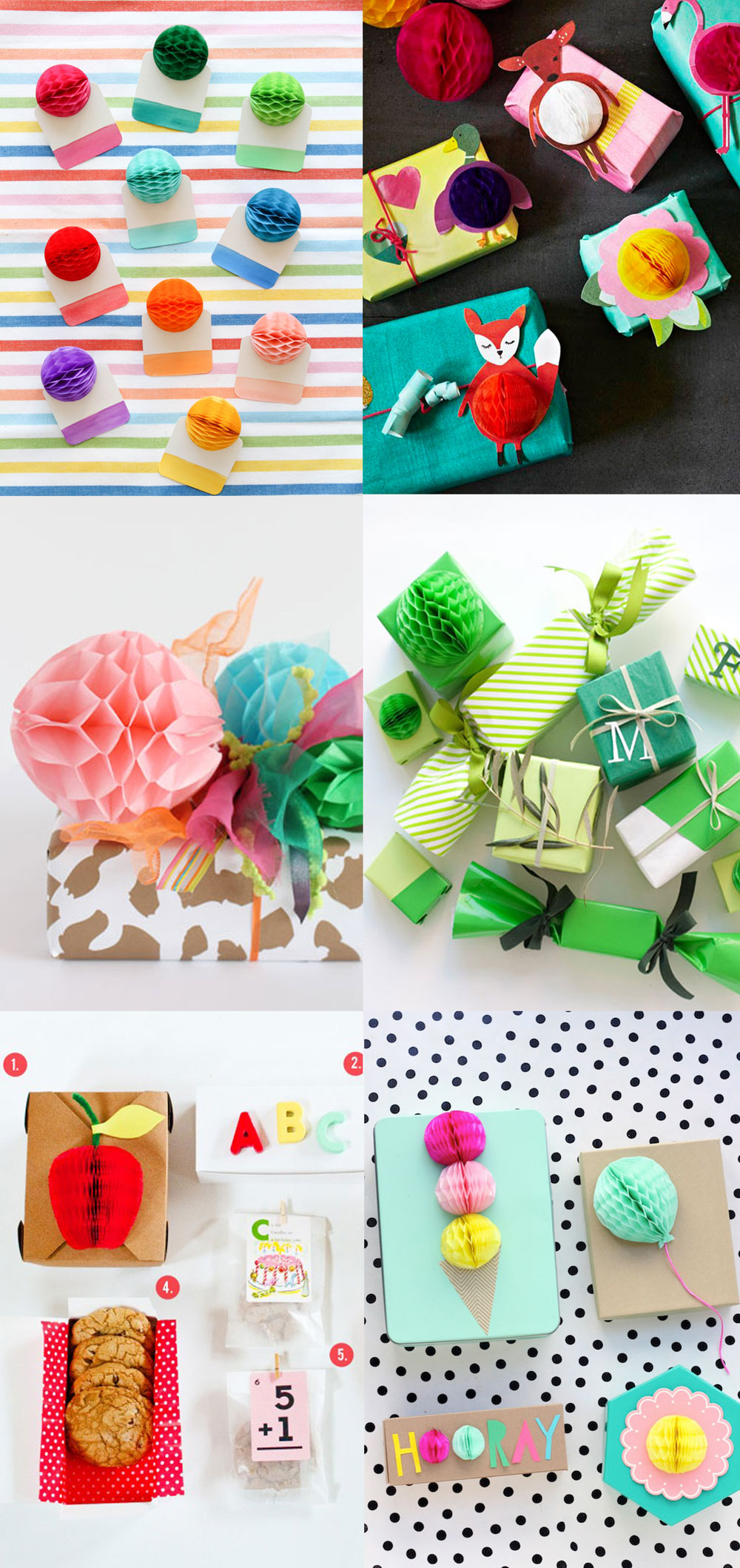 Wrapping-ideas-with-honeycomb-balls
