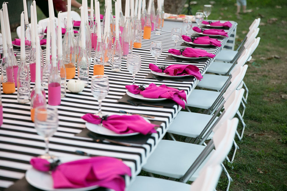 colorful outdoor party ideas