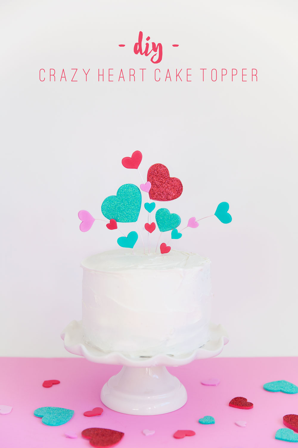 A-cute-and-simple-Valentine's-Day-Cake-topper