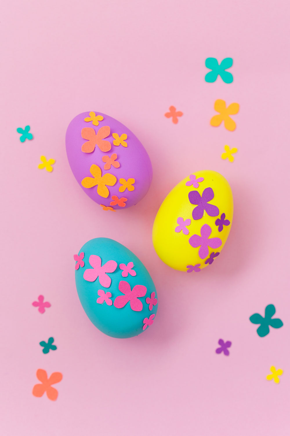 Paper Flower Easter Eggs Tell Love And Party