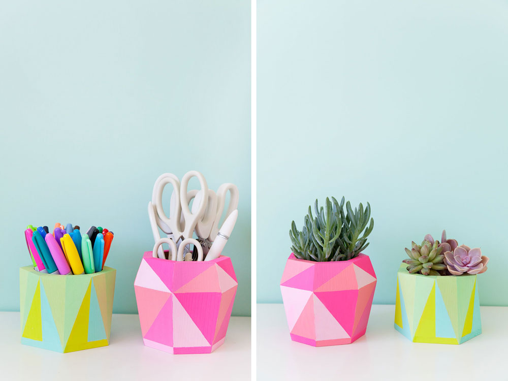 painted-geo-pot-two-ways