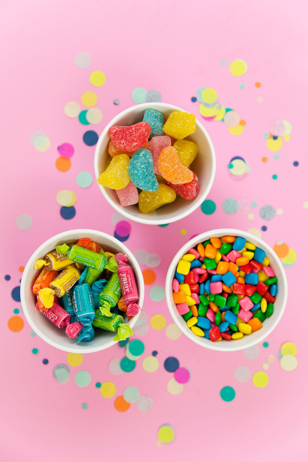 DIY CONFETTI CANDY BOWLS - Tell Love and Party