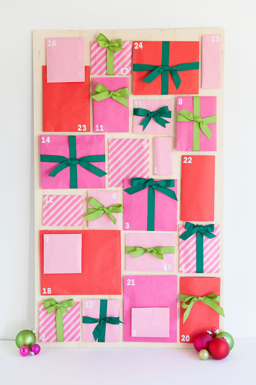 Diy Christian Advent Calendar : Diy paper bag advent calendar tell love and party