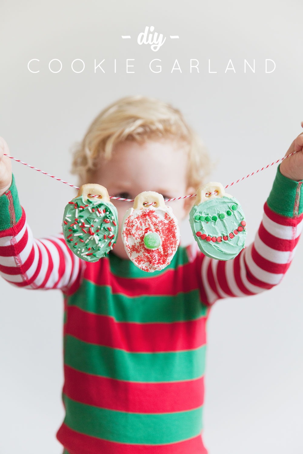 cookie-garland with title