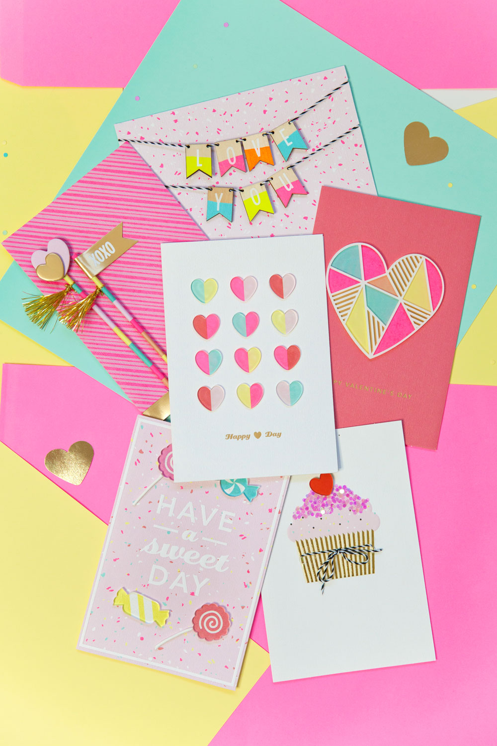Hallmark-Valentine-Day-Cards-with-Tell-Love-and-Party