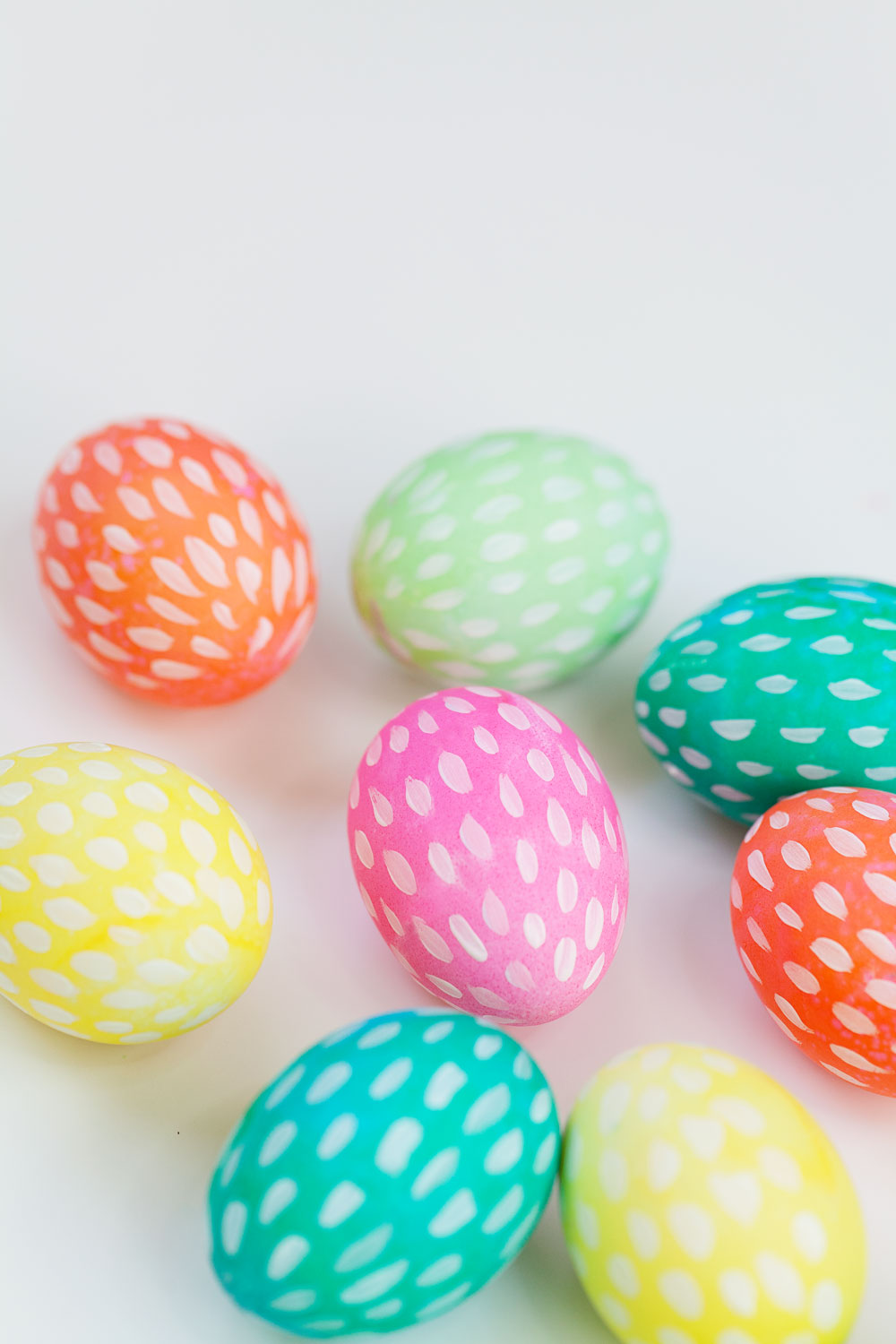 Brush-Stroke-Painted-Easter-Eggs
