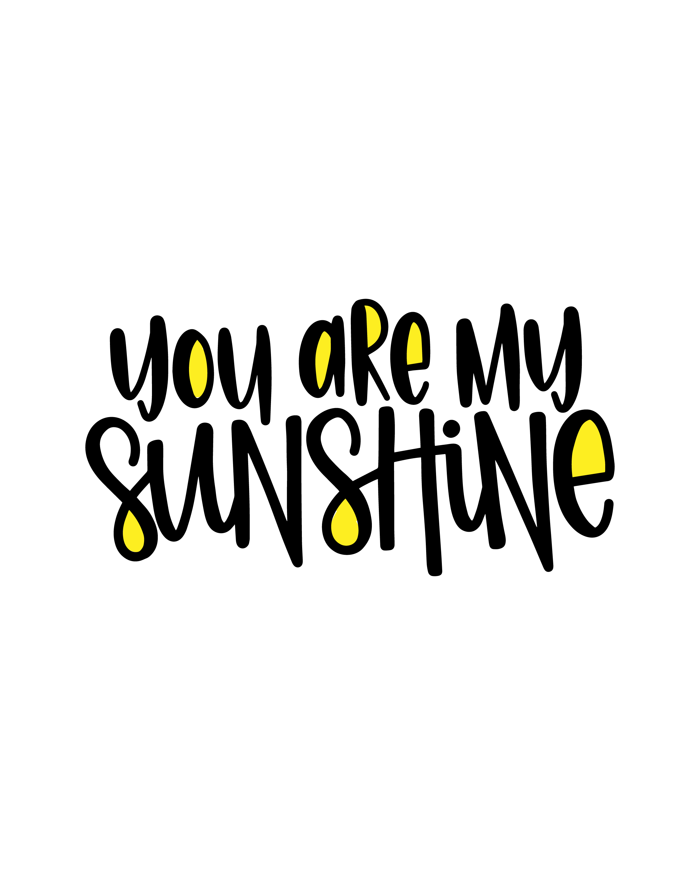 picture regarding You Are My Sunshine Printable named Sunlight BIRTHDAY Occasion - Notify Appreciate and Get together