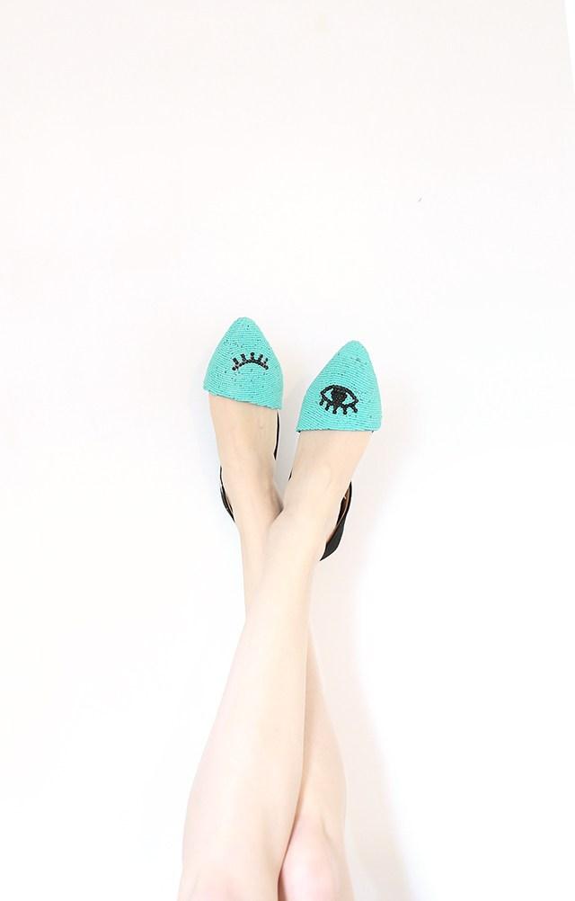 DIY-Beaded-Shoes-Winking-Eye-Pattern-Flats-Tutorial
