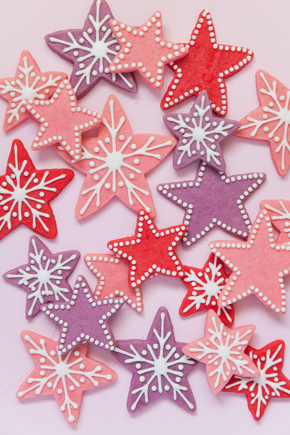 Star Christmas Cookies Tell Love And Party