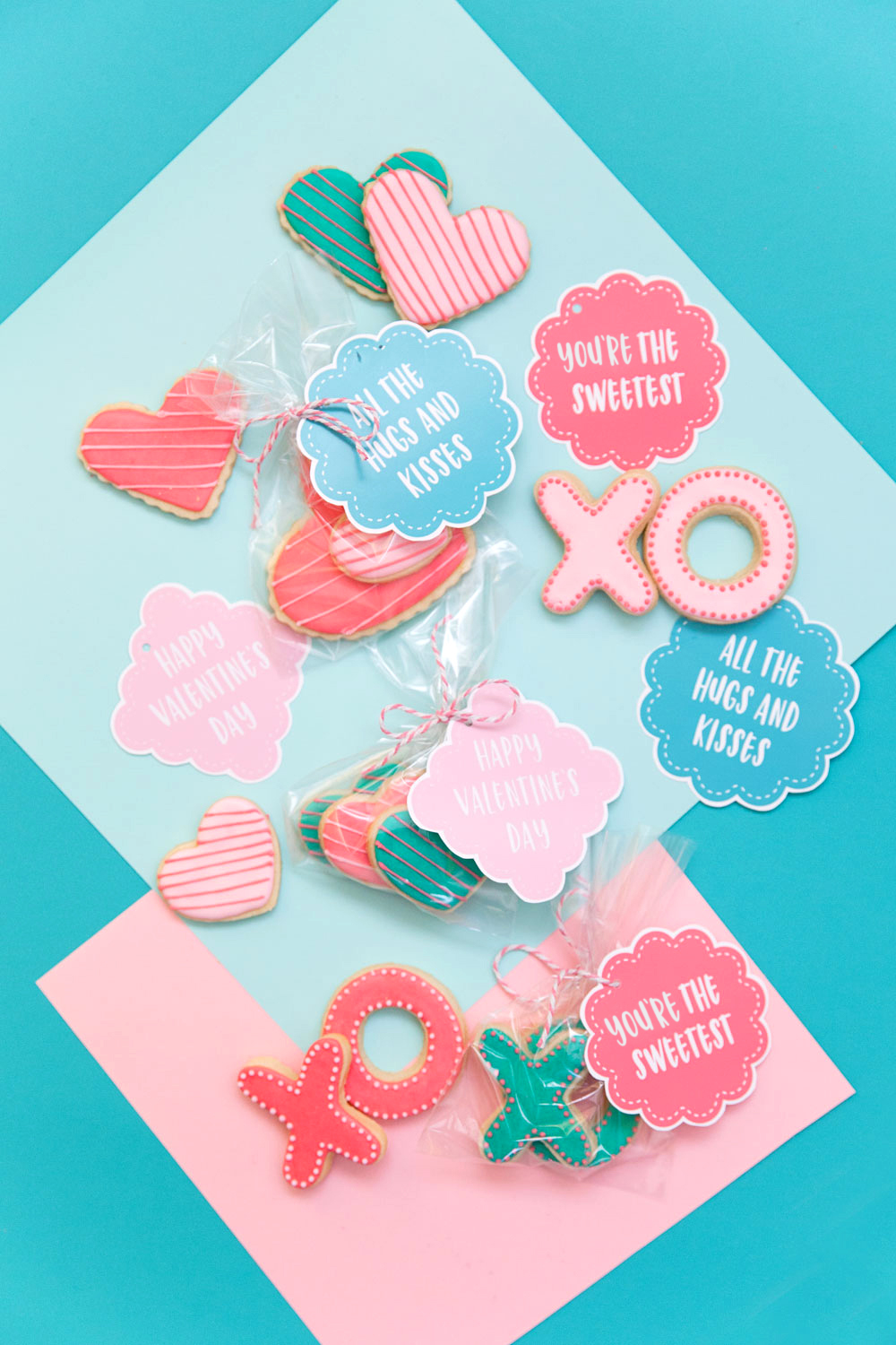 picture relating to Cookie Printable titled Cost-free PRINTABLE COOKIE VALENTINES - Notify Appreciate and Bash