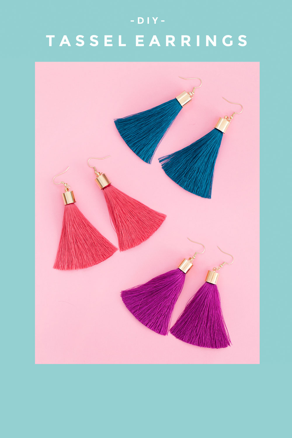 Diy Tassel Earrings Tell Love And Party