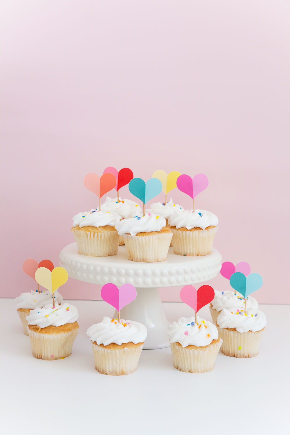 picture relating to Cupcake Printable known as Free of charge PRINTABLE Middle CUPCAKE TOPPER - Notify Appreciate and Bash